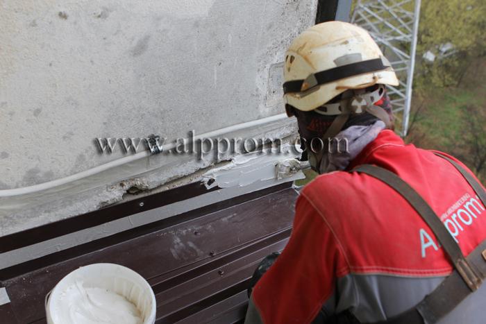 герметизация крыши балкона