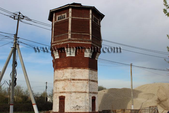 Проходимость воды в водонапорной башне