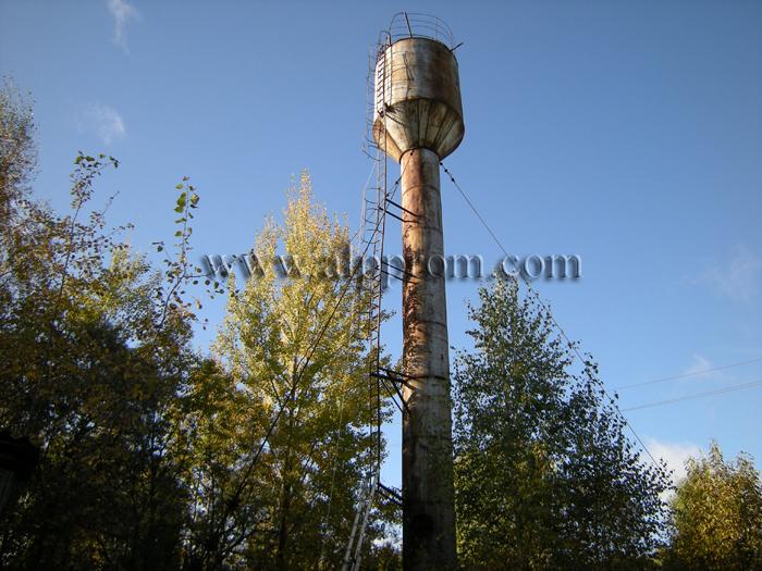 Периодичностью очистки водонапорных башен